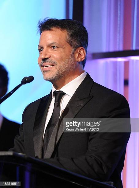 Producer Michael De Luca accepts the Hollywood Producer Award onstage during the 17th annual Hollywood Film Awards at The Beverly Hilton Hotel on...