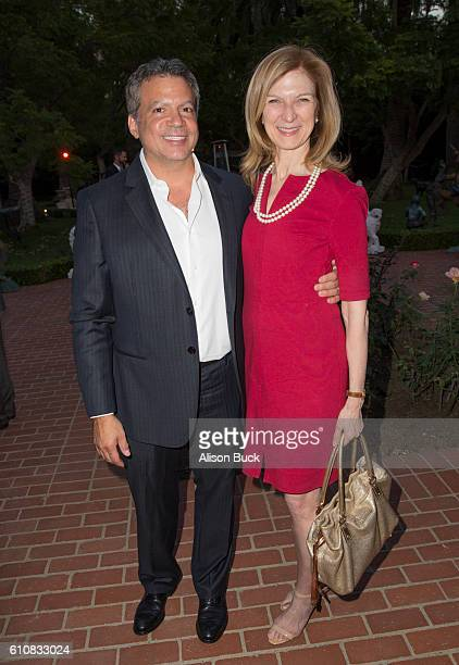 Producer Michael De Luca and CEO of the Academy of Motion Picture Arts and Sciences Dawn Hudson attend the Spirit Of Hope Dinner Arrivals on...