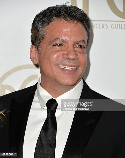 Producer Michael De Luca attends the 25th annual Producers Guild of America Awards at The Beverly Hilton Hotel on January 19 2014 in Beverly Hills...