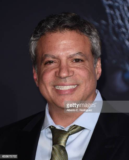 Producer Michael De Luca attends the premiere of Universal Pictures' 'Fifty Shades Darker' at The Theatre at Ace Hotel on February 2 2017 in Los...