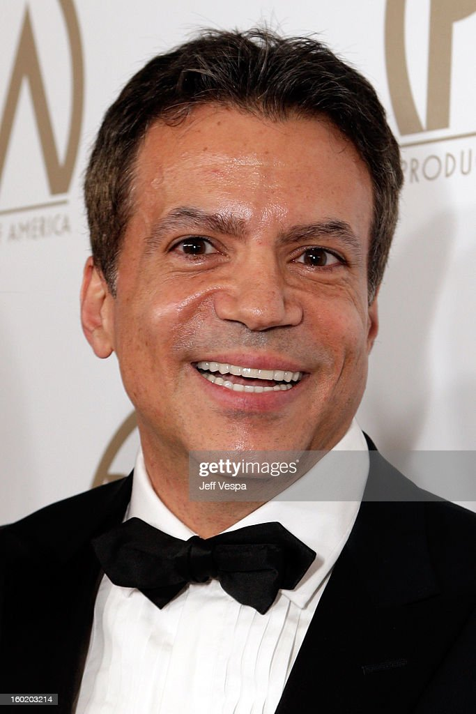 Producer Michael DeLuca arrives at the 24th Annual Producers Guild Awards held at The Beverly Hilton Hotel on January 26, 2013 in Beverly Hills, California.