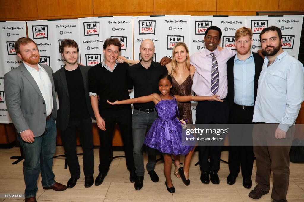 Producer Michael Gottwald, cinematographer Ben Richardson, director <a gi-track='captionPersonalityLinkClicked' href=/galleries/search?phrase=Benh+Zeitlin&family=editorial&specificpeople=6711208 ng-click='$event.stopPropagation()'>Benh Zeitlin</a>, composer Dan Romer, actress Quvenzhane Wallis, screenwriter Lucy Alibar, actor Dwight Henry, producer Dan Janvey, and producer Josh Penn attend Film Independent's special screening of 'Beasts of the Southern Wild' at Bing Theatre At LACMA on November 29, 2012 in Los Angeles, California.