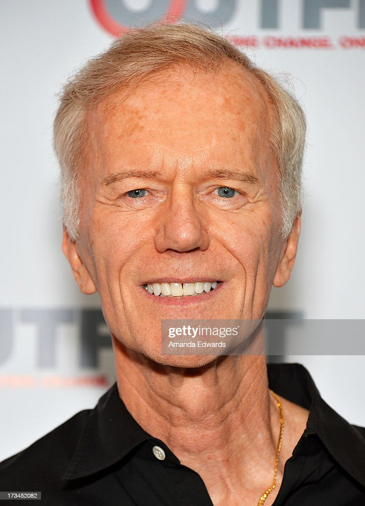 Producer Michael Huffington arrives at the 31st Annual Outfest Los Angeles LGBT Film Festival screening of 'Geography Club' at Directors Guild Of America on July 14, 2013 in Los Angeles, California.