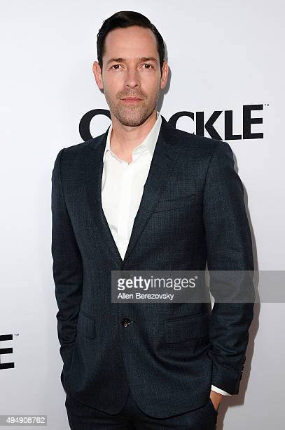 Producer Michael Polish attends the premiere of Crackle's 'The Art of More' at Sony Pictures Studios on October 29 2015 in Culver City California
