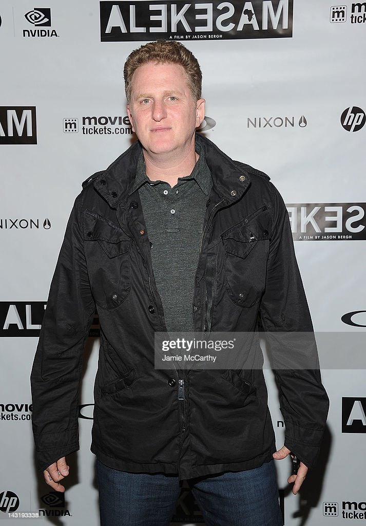 Producer Michael Rapaport attends After Party For Jason Bergh's New Film Alekesam at Tribeca Grand Hotel on April 20, 2012 in New York City.