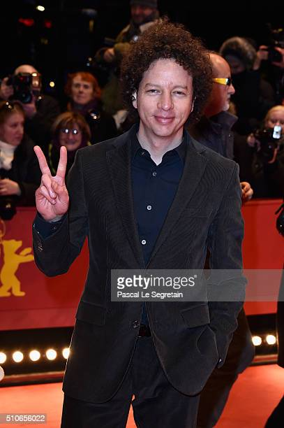 Producer Michel Franco attends the 'Genius' premiere during the 66th Berlinale International Film Festival Berlin at Berlinale Palace on February 16...