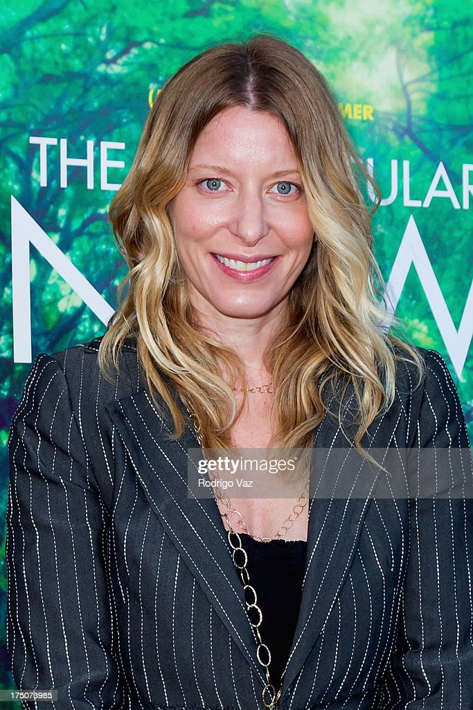 Producer Michelle Krumm arrives at 'The Spectacular Now' - Los Angeles Special Screening at the Vista Theatre on July 30, 2013 in Los Angeles, California.