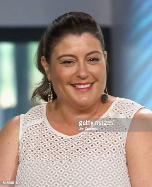 Producer Michelle Raimo Kouyate attends Build to discuss their new movie 'The Emoji Movie' at Build Studio on July 19 2017 in New York City