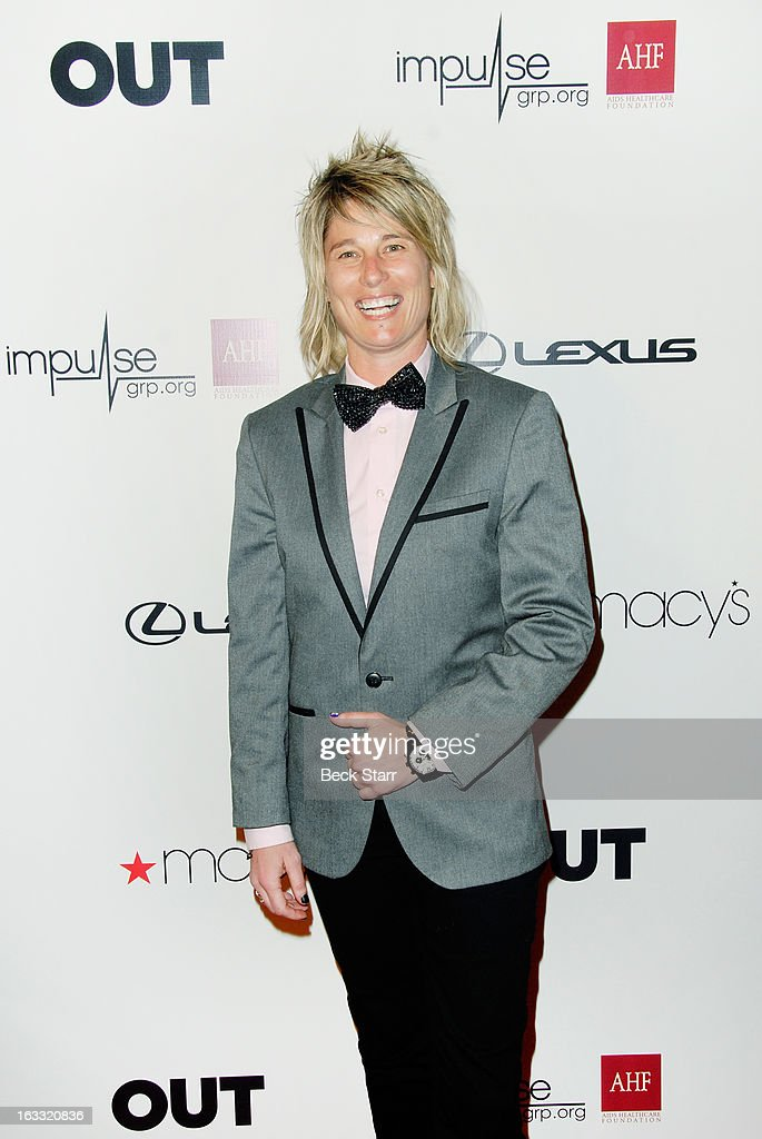 Producer Mikey Koffman arrives at OUT Magazine's celebration of LA fashion week with launch of Out Fashion presented by Lexus at Pacific Design Center on March 7, 2013 in West Hollywood, California.