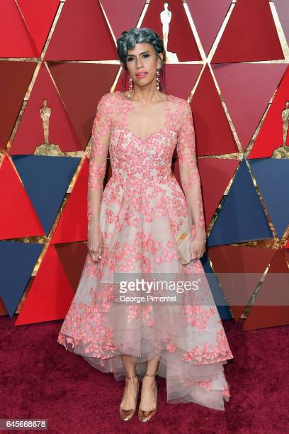 Producer Mimi Valdes attends the 89th Annual Academy Awards at Hollywood Highland Center on February 26 2017 in Hollywood California