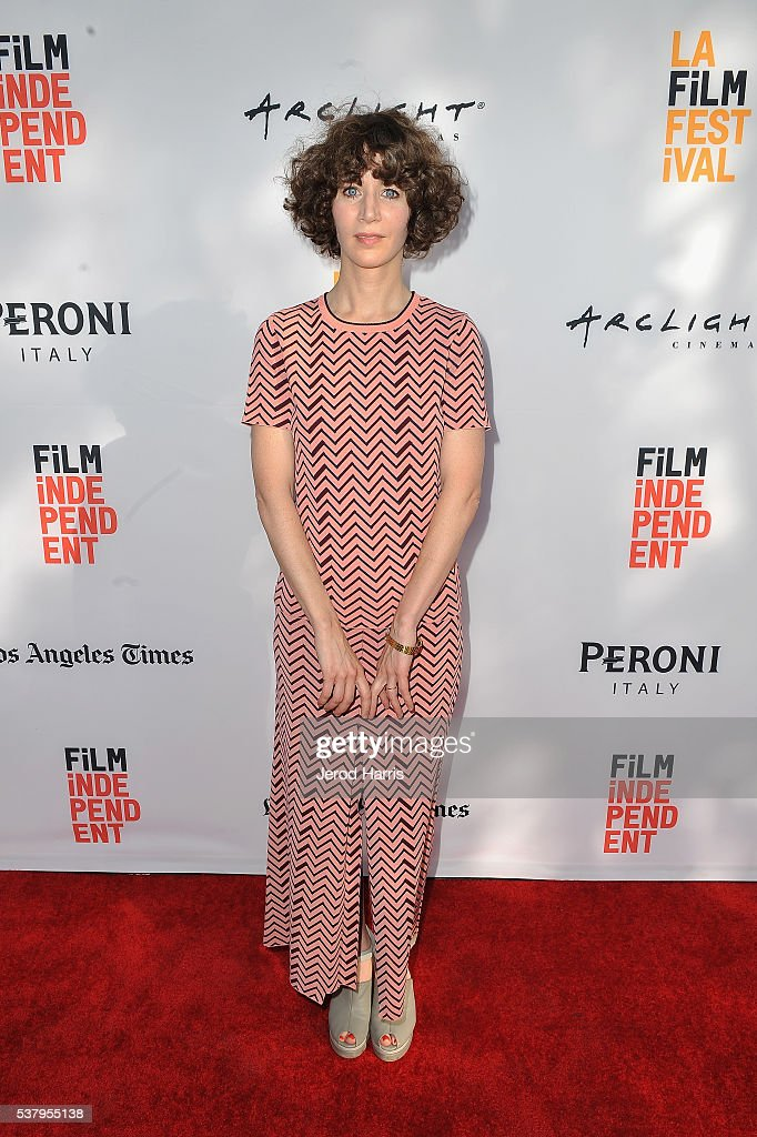 Producer Miranda July attends the premieres of 'No Light and No Land Anywhere' and SBF 'Sea Calls Me Home Julia Holter' during the 2016 Los Angeles...