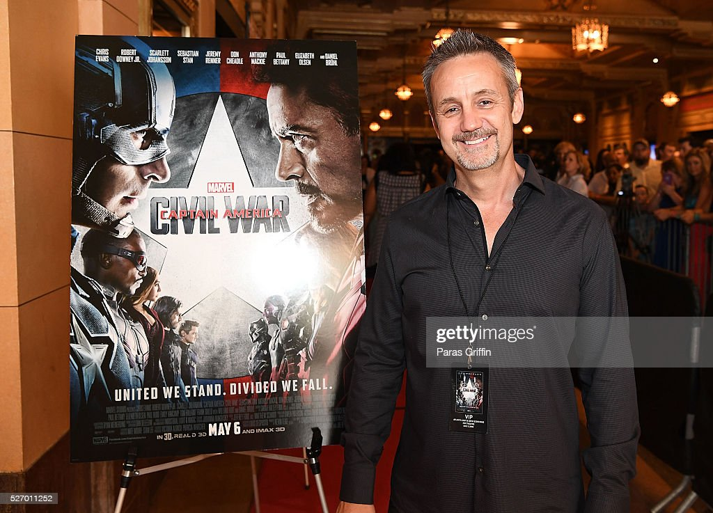 Producer Mitch Bell attends 'Captain America: Civil War' Atlanta cast & filmmakers screening at The Fox Theatre on May 1, 2016 in Atlanta, Georgia.