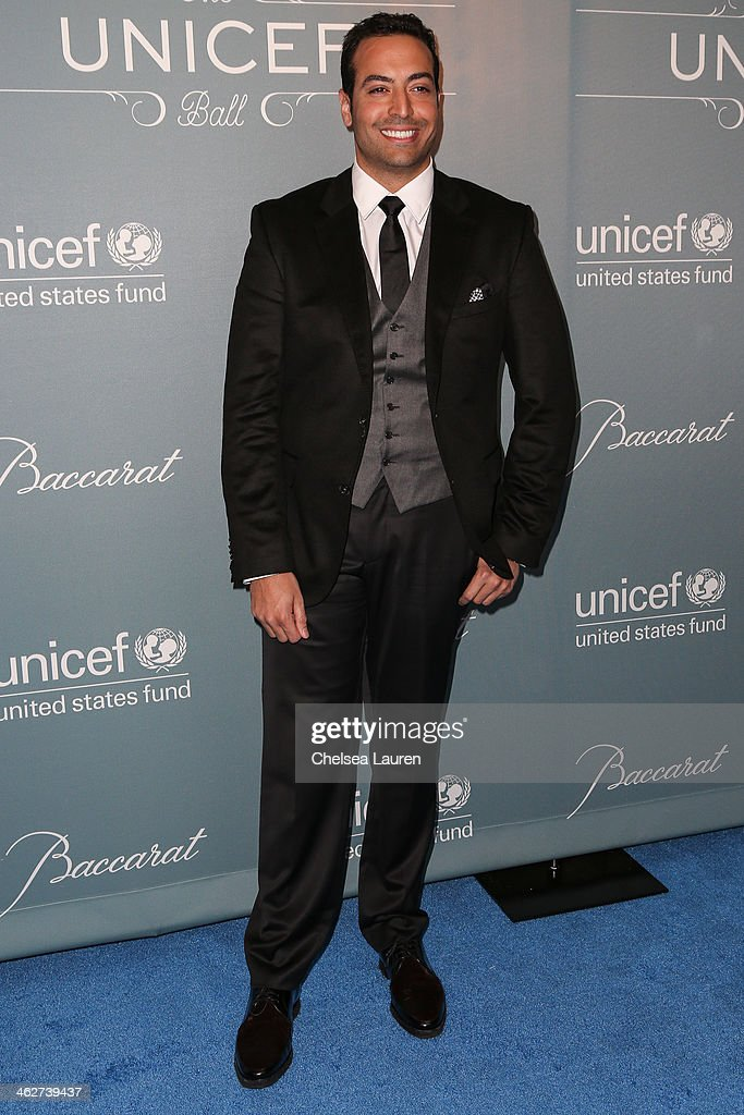 Producer Mohammed Al Turki arrives at the 2014 UNICEF Ball presented by Baccarat at Regent Beverly Wilshire Hotel on January 14, 2014 in Beverly Hills, California.