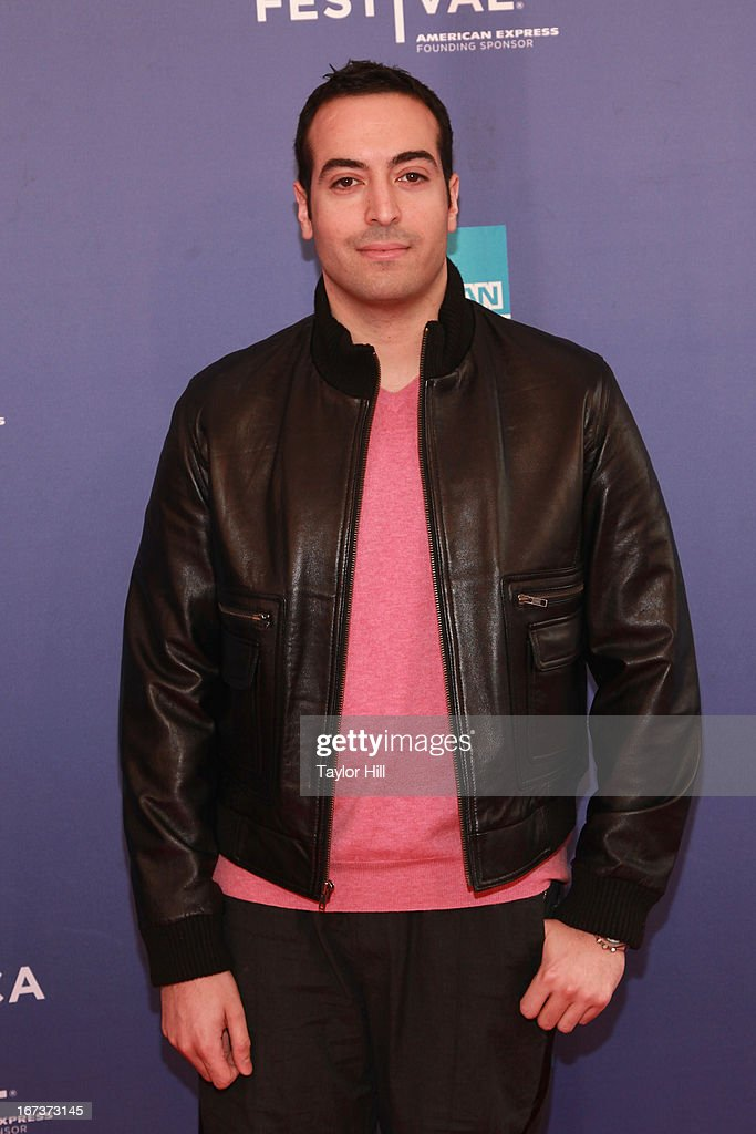 Producer Mohammed al-Turki attends the screening of 'Battle of amfAR' & Beyond The Screens: The Artist's Angle during the 2013 Tribeca Film Festival at SVA Theater on April 24, 2013 in New York City.