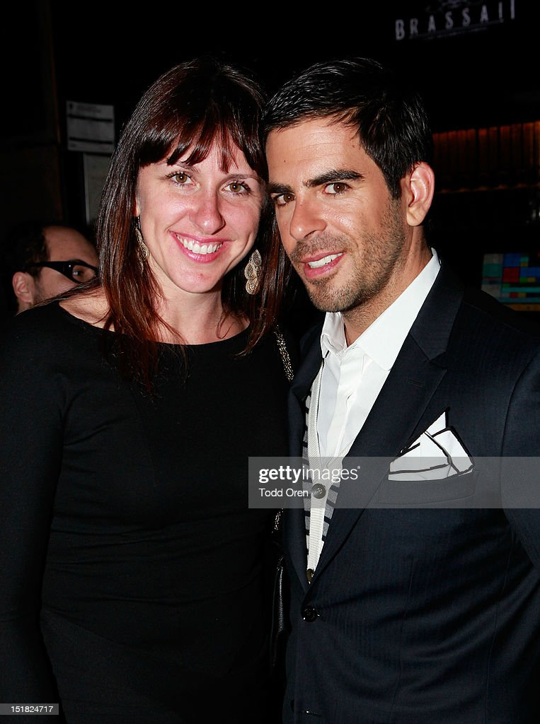 Producer Molly Conners (L) and <a gi-track='captionPersonalityLinkClicked' href=/galleries/search?phrase=Eli+Roth&family=editorial&specificpeople=543948 ng-click='$event.stopPropagation()'>Eli Roth</a> attend the Worldview Entertainment Cocktail Party and Dinner at Brassaii Restaurant and Lounge during the 2012 Toronto International Film Festival at Brassaii on September 11, 2012 in Toronto, Canada.