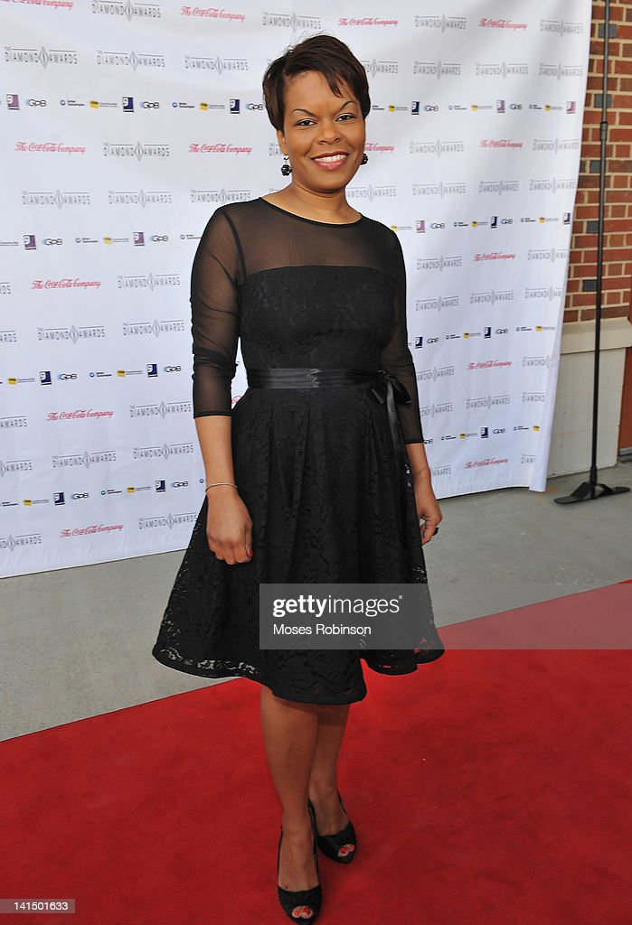 Producer Monica Barnes attends the Not Alone Foundation Second Biennial Diamond Awards at Morehouse College Ray Charles Performing Arts Center on March 17, 2012 in Atlanta, Georgia.