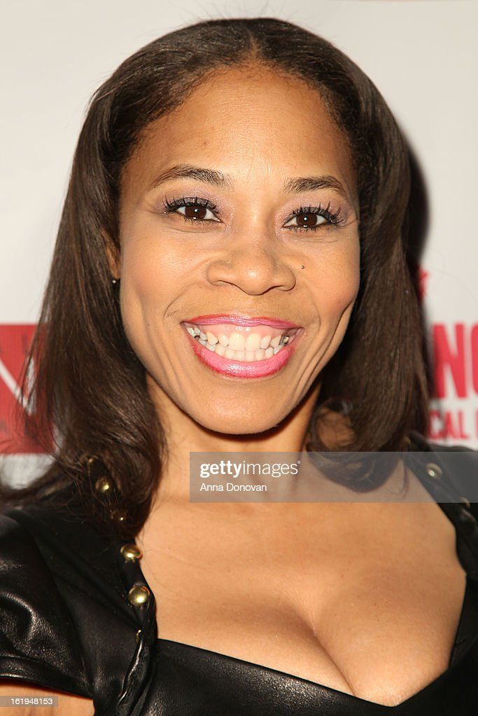 Producer Monica Floyd attends the closing night at the Pan African film festival 'Free Angela And All Political Prisoners' at Rave Cinemas on February 17, 2013 in Los Angeles, California.