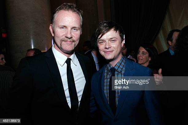 Producer Morgan Spurlock and Actor Dane DeHaan attend the IFP's 23nd Annual Gotham Independent Film Awards at Cipriani Wall Street on December 2 2013...