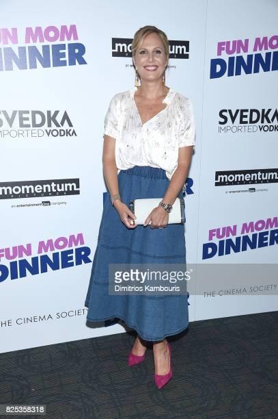 Producer Naomi Scott attends the screening Of 'Fun Mom Dinner' at Landmark Sunshine Cinema on August 1 2017 in New York City