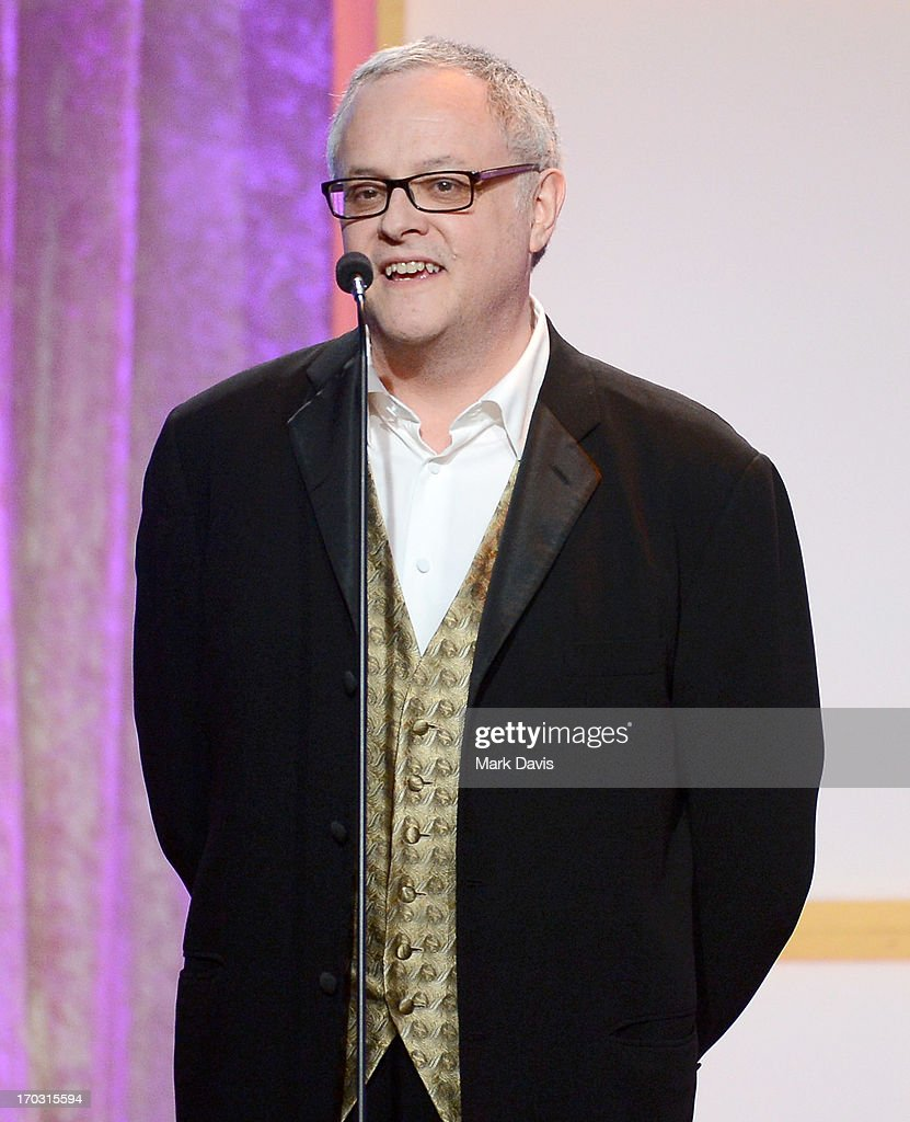 Producer Neal Baer speaks onstage during Broadcast Television Journalists Association's third annual Critics' Choice Television Awards at The Beverly Hilton Hotel on June 10, 2013 in Los Angeles, California.