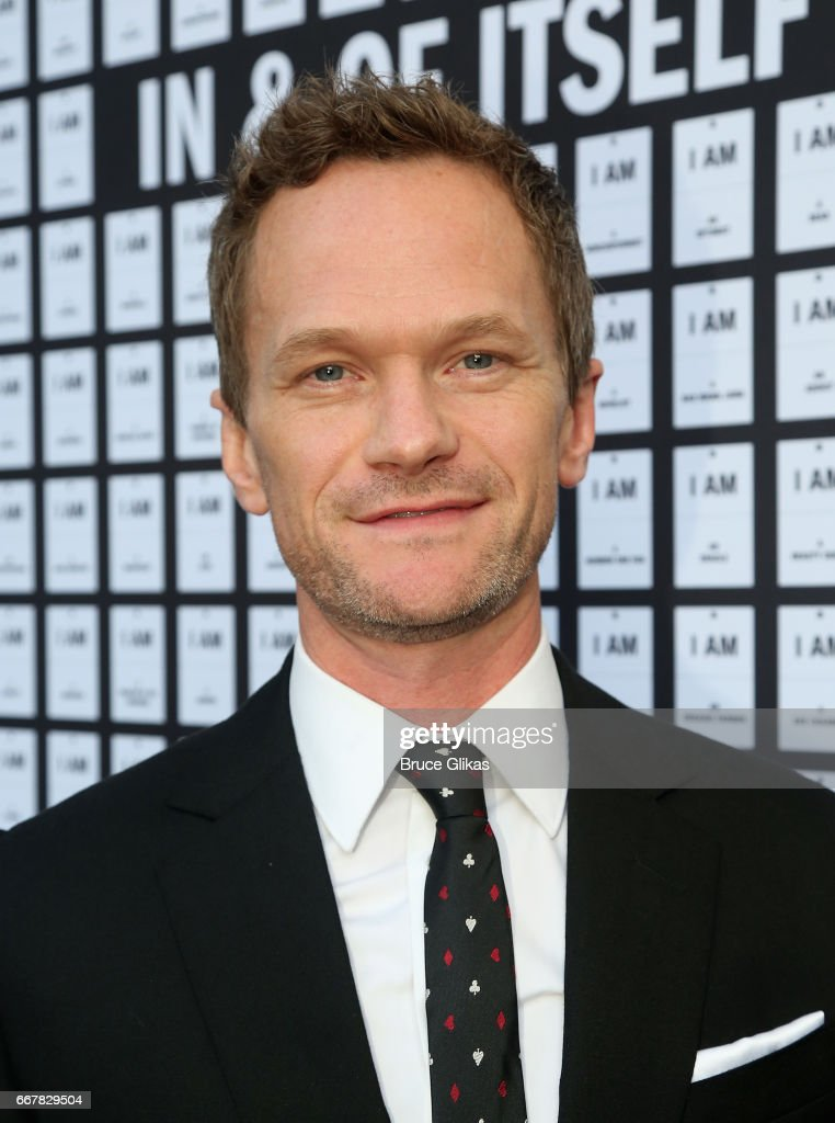 Producer Neil Patrick Harris poses at the opening night arrivals of 'In & Of Itself' at The Daryl Roth Theatre on April 12, 2017 in New York City.