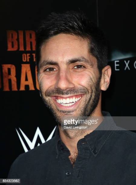 Producer Nev Schulman attends the premiere of WWE Studios' 'Birth of the Dragon' at ArcLight Hollywood on August 17 2017 in Hollywood California