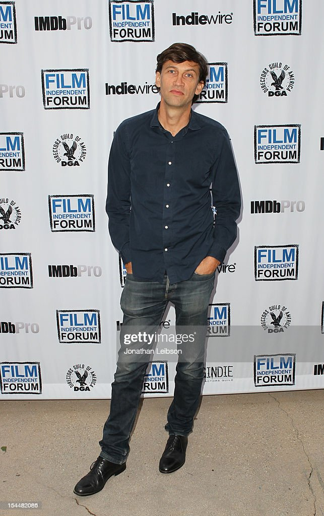Producer Nicholas D. Wrathall attends the Film Independent Film Forum at Directors Guild of America on October 20, 2012 in Los Angeles, California.