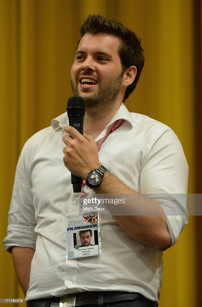 Producer Nicholas Hatton attends the 2013 Palm Springs ShortFest 'Shooting Stars' Screening held at the Camelot theater on June 21, 2013 in Palm Springs, California.