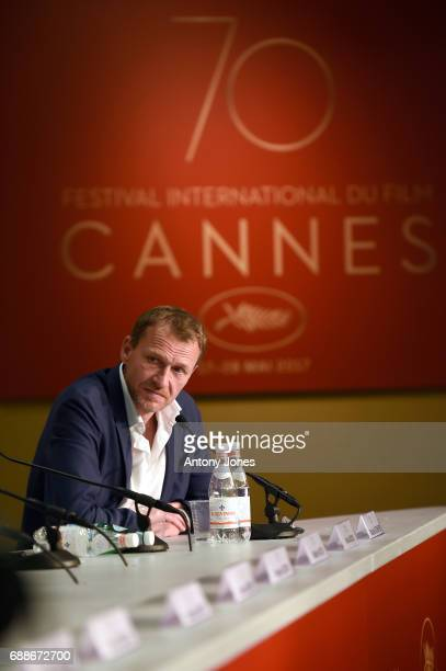Producer Nicolas Altmayer attends the 'Amant Double ' Press Conferenceduring the 70th annual Cannes Film Festival at Palais des Festivals on May 26...