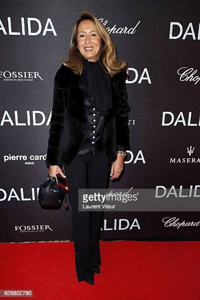 Producer Nicole Coullier attends 'Dalida' Paris Premiere at L'Olympia on November 30 2016 in Paris France