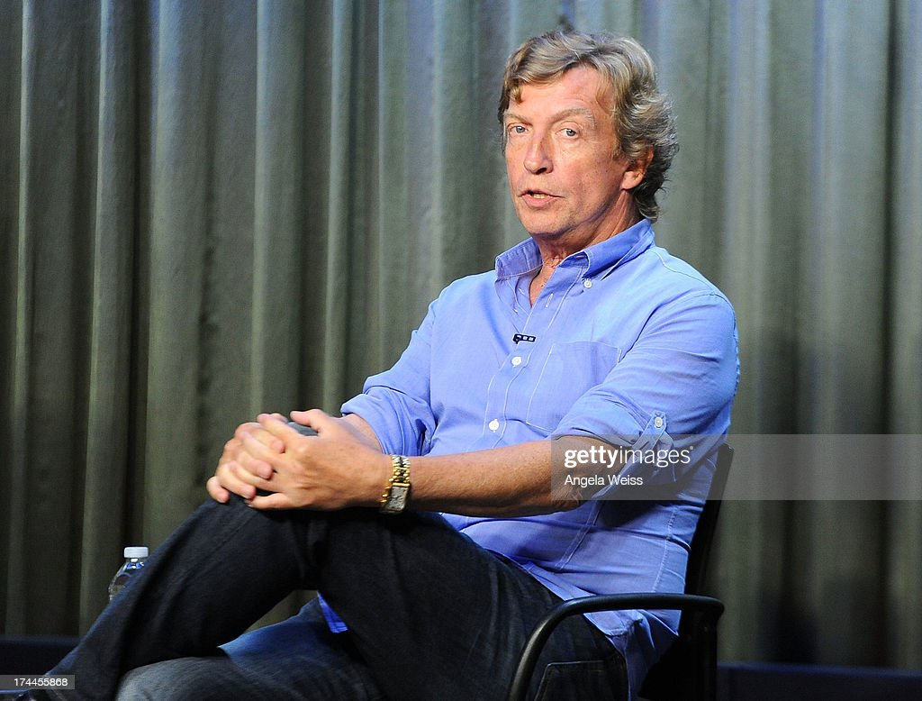 Producer Nigel Lithgoe attends the Screen Actors Guild Foundation, SAG-AFTRA and Career Transitions for Dancers presents 'Dancers Forum' with Nigel Lythgoe, Cat Deeley, Adam Shankman, Kym Johnson, tWitch and more at SAG Foundation Actors Center on July 25, 2013 in Los Angeles, California.