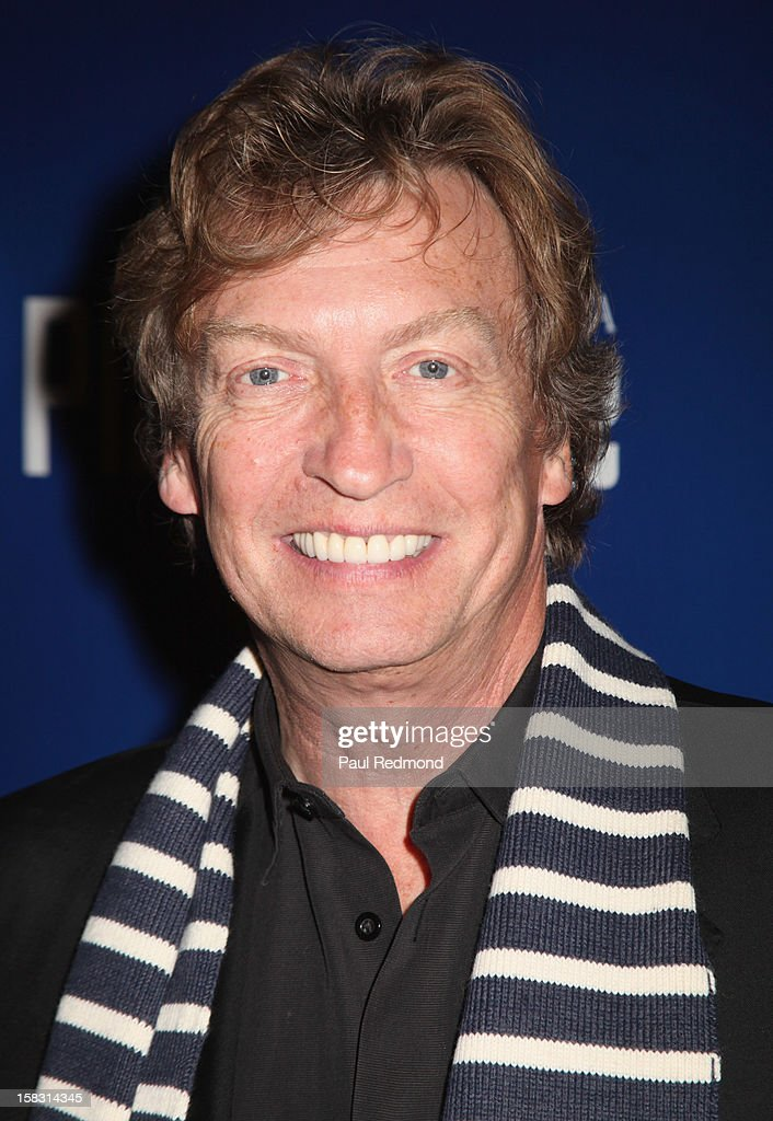 Producer Nigel Lythgoe arrives at the Pasadena Playhouse and Lythgoe Family Production's 'A Snow White Christmas' at Pasadena Playhouse on December 12, 2012 in Pasadena, California.