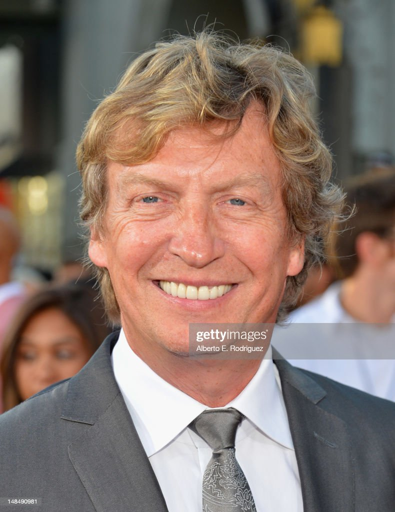 Producer <a gi-track='captionPersonalityLinkClicked' href=/galleries/search?phrase=Nigel+Lythgoe&family=editorial&specificpeople=736462 ng-click='$event.stopPropagation()'>Nigel Lythgoe</a> arrives to the Los Angeles premiere of Summit Entertainment's 'Step Up Revolution' at Grauman's Chinese Theatre on July 17, 2012 in Hollywood, California.