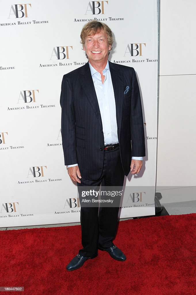 Producer <a gi-track='captionPersonalityLinkClicked' href=/galleries/search?phrase=Nigel+Lythgoe&family=editorial&specificpeople=736462 ng-click='$event.stopPropagation()'>Nigel Lythgoe</a> attends American Ballet Theatre's annual 'Stars Under The Stars: An Evening In Los Angeles' event on September 12, 2013 in Hollywood, California.