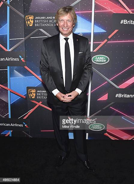 Producer Nigel Lythgoe attends the 2015 Jaguar Land Rover British Academy Britannia Awards presented by American Airlines at The Beverly Hilton Hotel...
