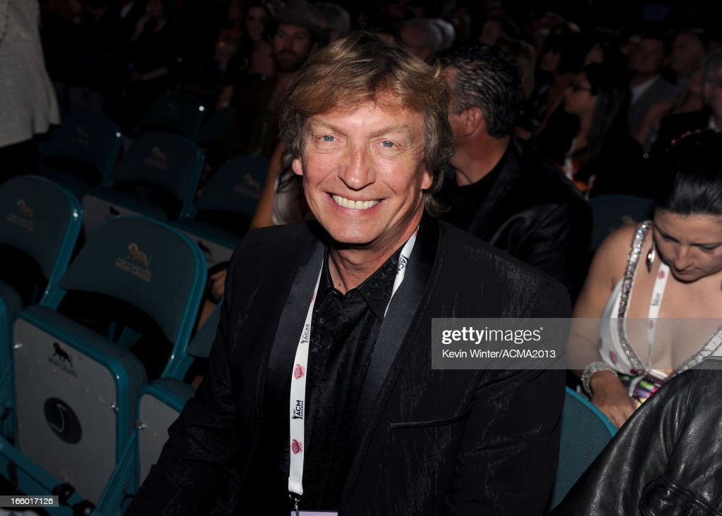 Producer <a gi-track='captionPersonalityLinkClicked' href=/galleries/search?phrase=Nigel+Lythgoe&family=editorial&specificpeople=736462 ng-click='$event.stopPropagation()'>Nigel Lythgoe</a> attends the 48th Annual Academy of Country Music Awards at the MGM Grand Garden Arena on April 7, 2013 in Las Vegas, Nevada.