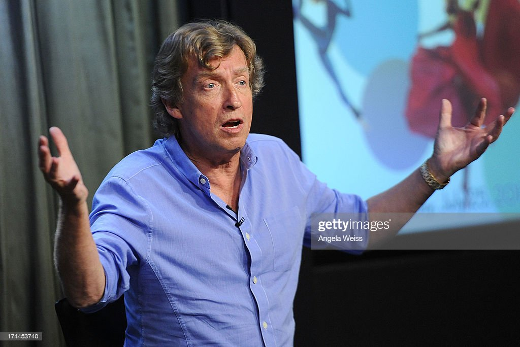 Producer Nigel Lythgoe attends the Screen Actors Guild Foundation, SAG-AFTRA and Career Transitions for Dancers presents 'Dancers Forum' with Nigel Lythgoe, Cat Deeley, Adam Shankman, Kym Johnson, tWitch and more at SAG Foundation Actors Center on July 25, 2013 in Los Angeles, California.