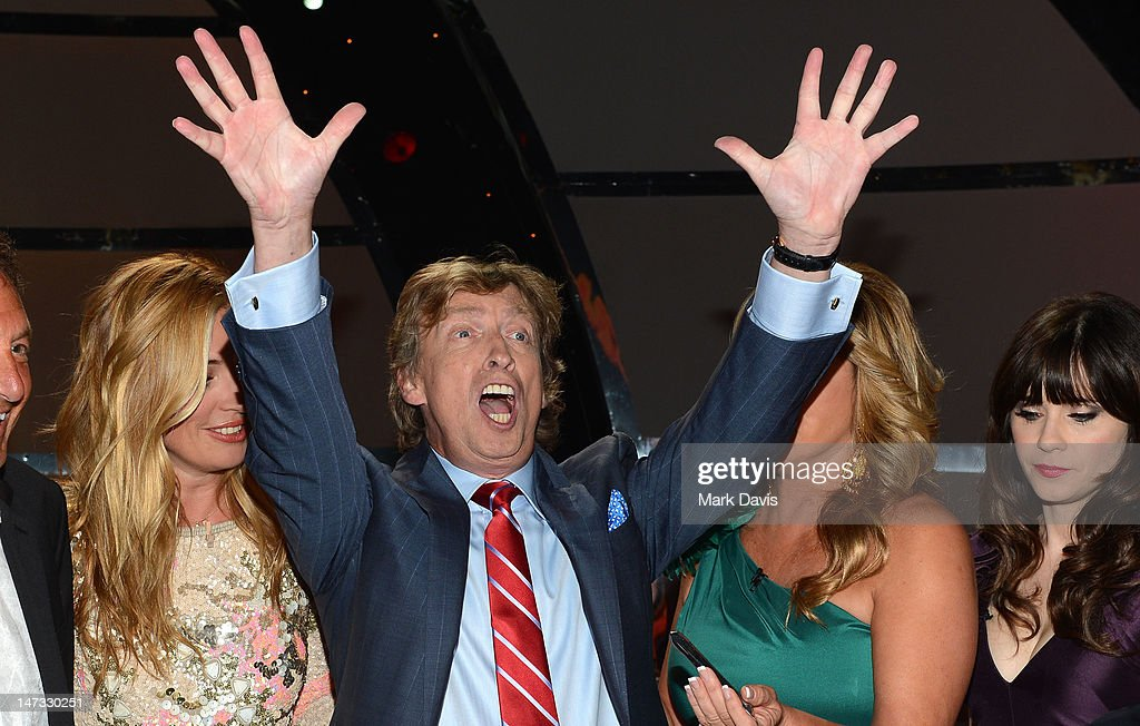 Producer <a gi-track='captionPersonalityLinkClicked' href=/galleries/search?phrase=Nigel+Lythgoe&family=editorial&specificpeople=736462 ng-click='$event.stopPropagation()'>Nigel Lythgoe</a> poses at the Fox Celebrates The 200th Episode Of 'So You Think You Can Dance' at CBS Television City on June 25, 2012 in Los Angeles, California.