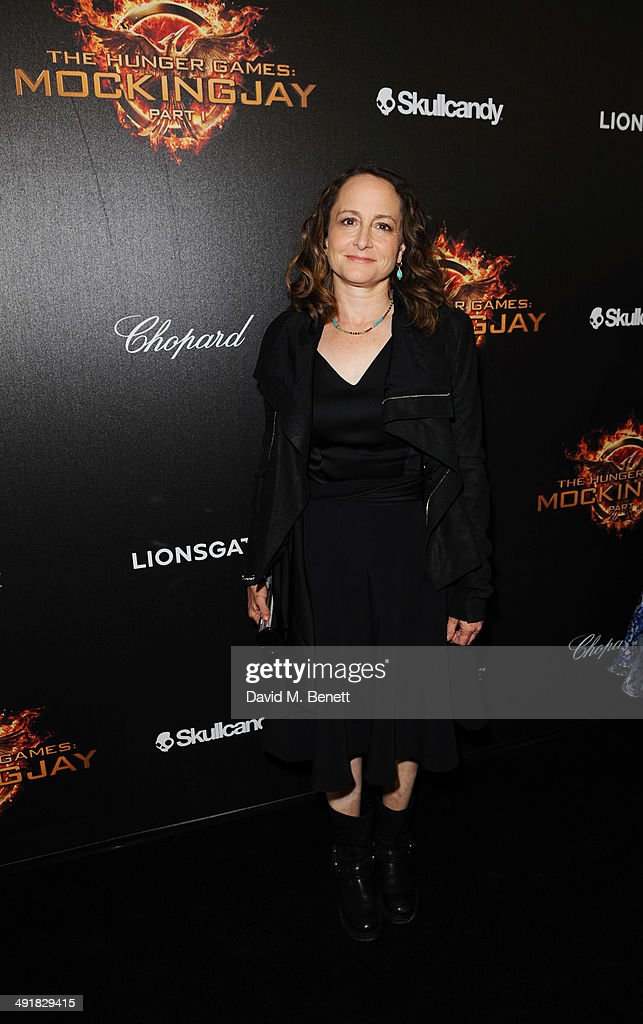 Producer Nina Jacobson attends Lionsgate's 'The Hunger Games: Mockingjay Part 1' party at a private villa on May 17, 2014 in Cannes, France.