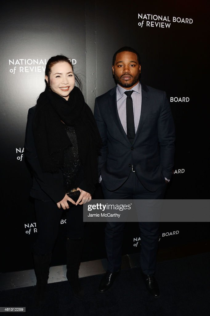 Producer Nina Yang Bongiovi and director <a gi-track='captionPersonalityLinkClicked' href=/galleries/search?phrase=Ryan+Coogler&family=editorial&specificpeople=7316581 ng-click='$event.stopPropagation()'>Ryan Coogler</a> attend the 2014 National Board Of Review Awards Gala at Cipriani 42nd Street on January 7, 2014 in New York City.