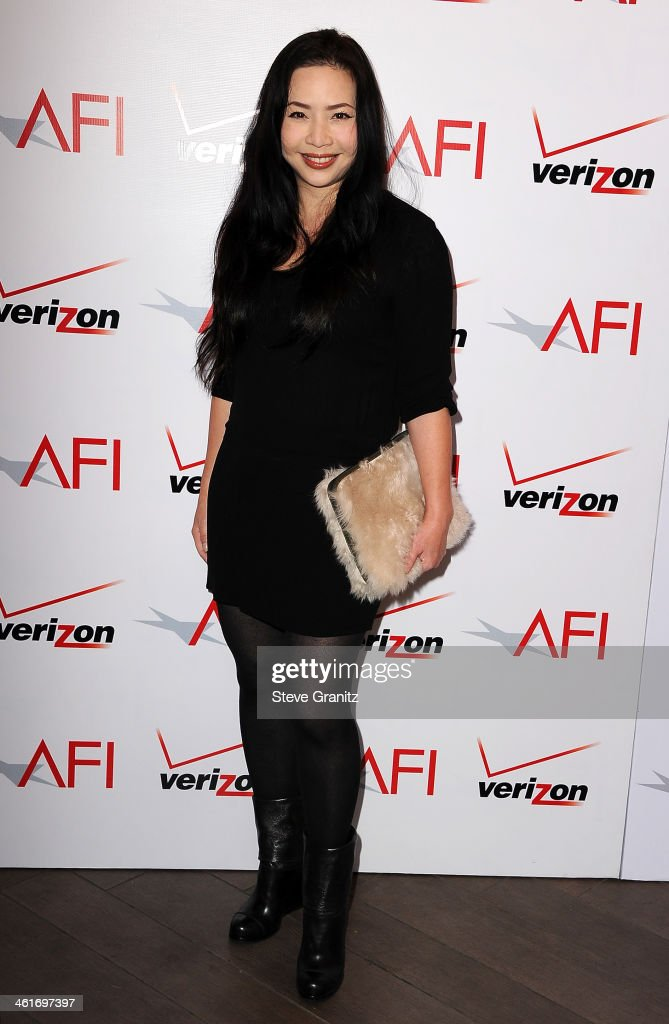 Producer Nina Yang Bongiovi attends the 14th annual AFI Awards Luncheon at the Four Seasons Hotel Beverly Hills on January 10, 2014 in Beverly Hills, California.