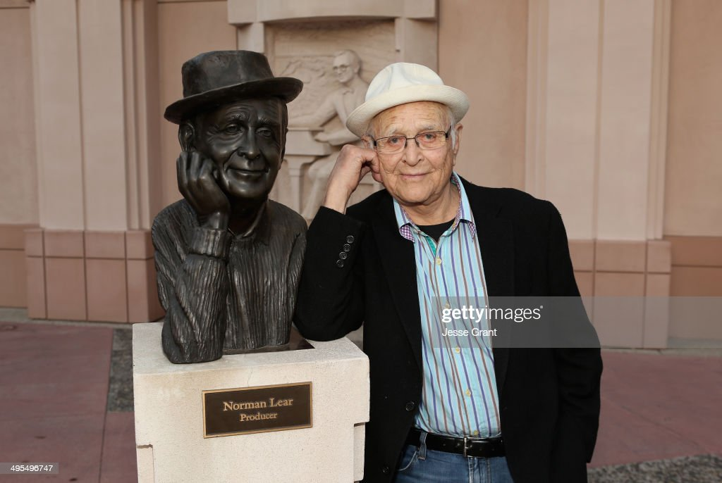 Producer <a gi-track='captionPersonalityLinkClicked' href=/galleries/search?phrase=Norman+Lear&family=editorial&specificpeople=206632 ng-click='$event.stopPropagation()'>Norman Lear</a> attends The Tanning of America special screening at the Leonard Goldenson Theatre on June 3, 2014 in North Hollywood, California.