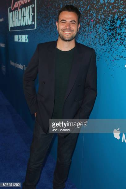 Producer of Carpool Karaoke series Ben Winston at Apple Music Launch Party Carpool Karaoke The Series with James Corden on August 7 2017 in West...