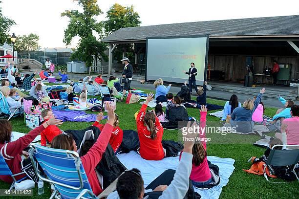 Producer of Nantucket Film Festival Bill Curran speaks at The 19th Annual Nantucket Film Festival on June 27 2014 in Nantucket Massachusetts