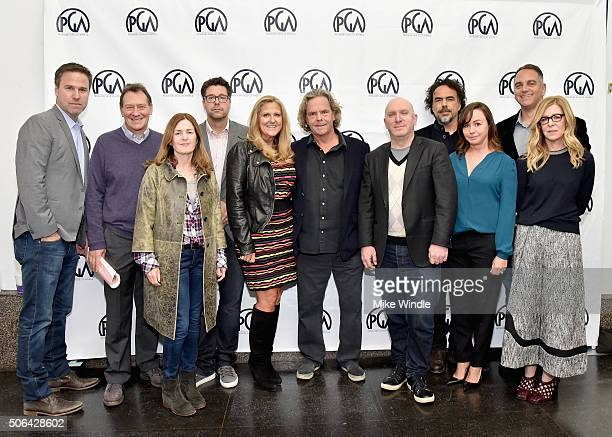 Producer of 'Sicario' Basil Iwanyk CoPresident Producers Guild of America Gary Lucchesi Producer of 'Brooklyn' Finola Dwyer Producer of 'The Martian'...