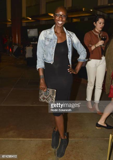 Producer Oge Egbuonu attends premiere of National Geographic's 'LA 92' After Party on April 27 2017 in Los Angeles California