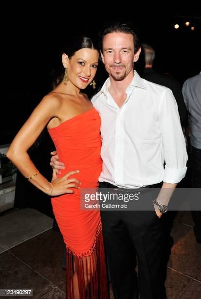 Producer Oliver Berben and girlfriend Iris Tanz attend the Variety Award 2011 during the 68th Venice Film Festival at Hotel Danieli on September 3...