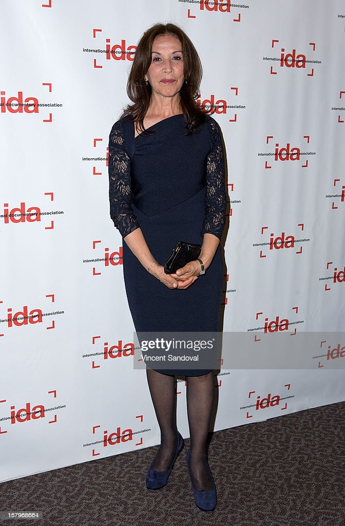 Producer Olivia Harrison attends the 2012 IDA Documentary Awards at Directors Guild Of America on December 7, 2012 in Los Angeles, California.