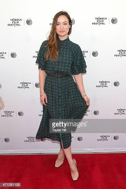 Producer Olivia Wilde attends 2015 Tribeca Film Festival Tribeca Talks Master Class ARC Adorama Rental Company The Producers at SVA Theatre 2 on...