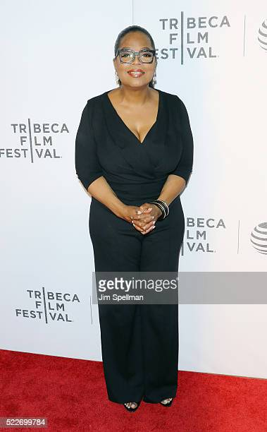 Producer Oprah Winfrey attend the Tribeca Tune In Greenleaf during the 2016 Tribeca Film Festival at John Zuccotti Theater at BMCC Tribeca Performing...